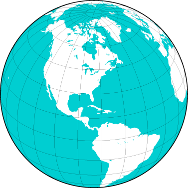 Spherical Projection Global Map (https://iescoders.com/2017/09/13/generic-mapping-tool-gmt-for-beginners/)