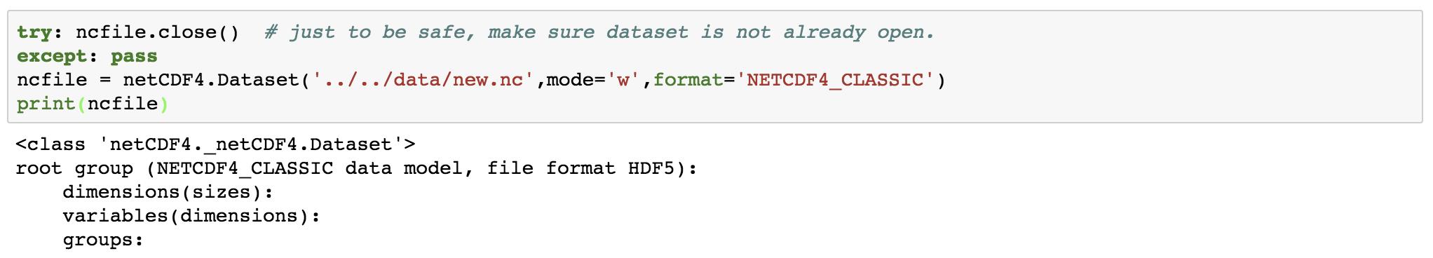 Read Netcdf Python